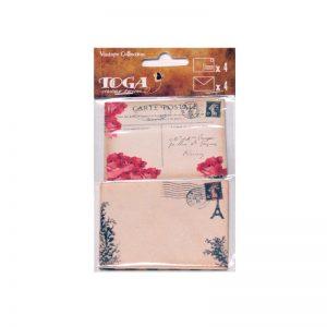Set sobres y postals vintage - AX002