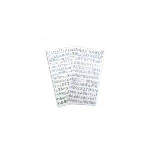 Alfabet Glitter plata -STB10