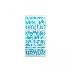 Alfabet feltre blau -STB03