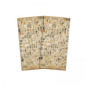 Alfabet vintage journal -STA16