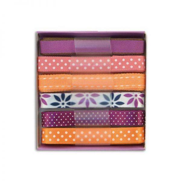 Cintes violeta/rosa/taronja -RU110