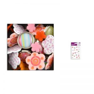 Brads fleurs&bonbons -AE55