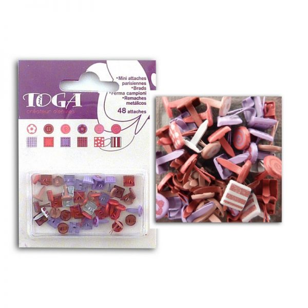 Mini enquadernadors colors càlids -AE94
