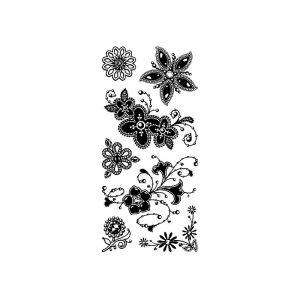 Segell acrilic flors -98980