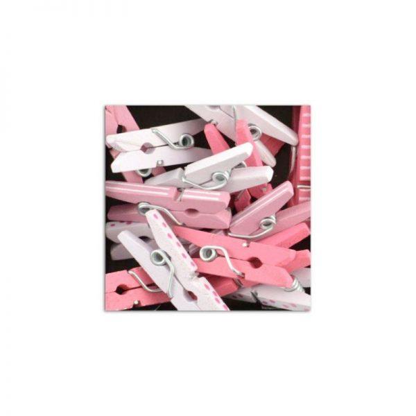 Mini pinces rosa clar/fosc -UAMB17