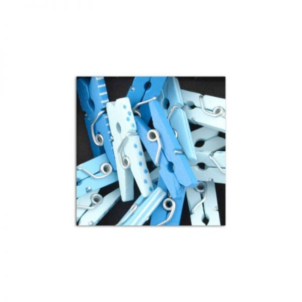 Mini pinces blau clar/fosc -UAMB18