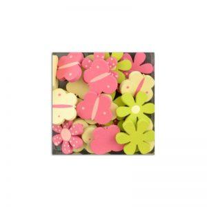 Fusta confetis verd/groc/rosa -UAMB09
