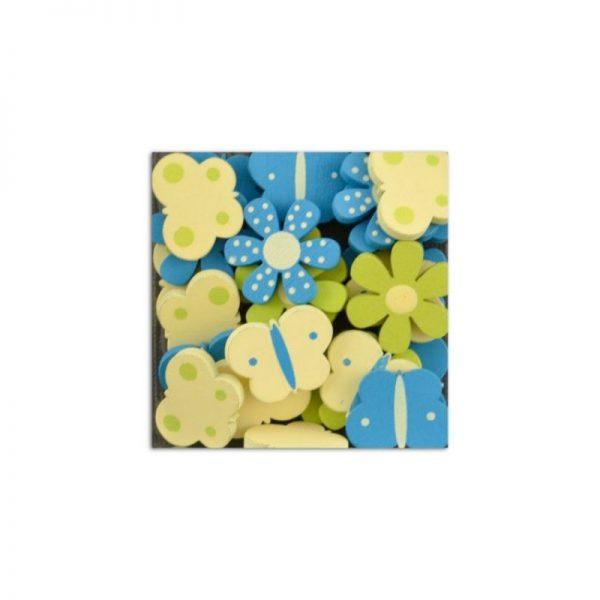 Fusta confetis verd/blau/groc -UAMB10