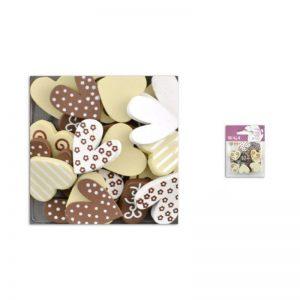 Fusta confetis xocolata/beige -UAMB19