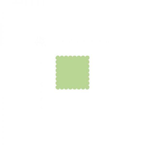 Troquelador mitjà quadrat feston -OPXC13