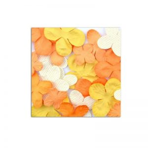 Flors grogues taronges -AA21