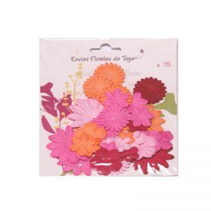 Flors mix rosa-taronja-vermell -AA25