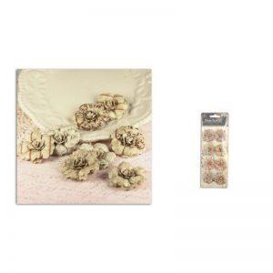 Flors Prima parchment petals vintage -551971