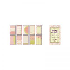 Mini Bloc Journaling Rosa/verd -PBJ01