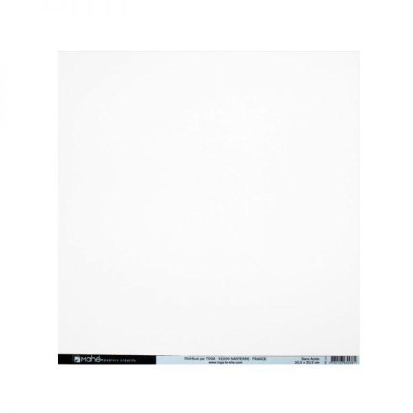 Cartolina texturitzada blanca - PE00