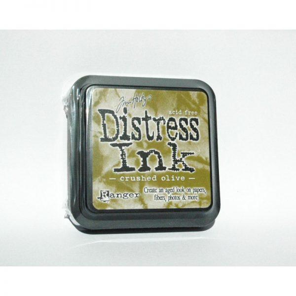 Distress Crushed Olive - TIM27126