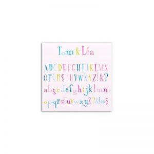 D'co Alfabet Tom&Lea DCZ05