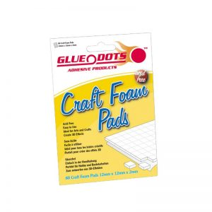 Glue Dots Craft Foam 12x12x2 - GD06