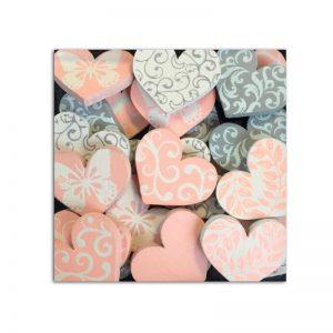 Confeti Fusta cors rosa/gris - FB020
