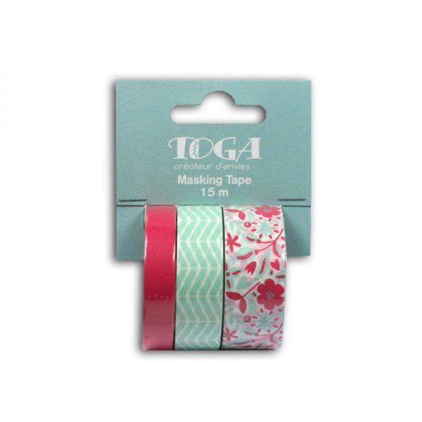 Masking Tape blau/rosa - MT114
