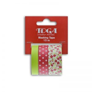 Masking Tape fucsia/festuc - MT94