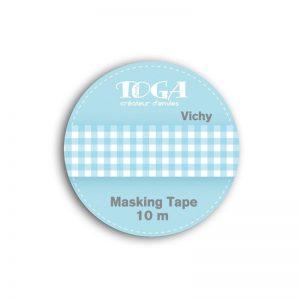 Masking Tape Vichy blau - MT29